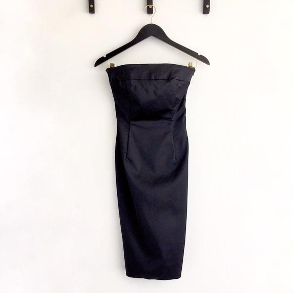 Coast Dresses Formal Strapless Black Dress Poshmark